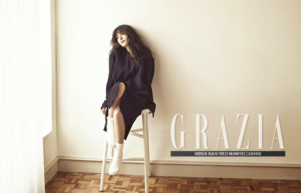 BoA - Grazia Magazine December Issue 2014