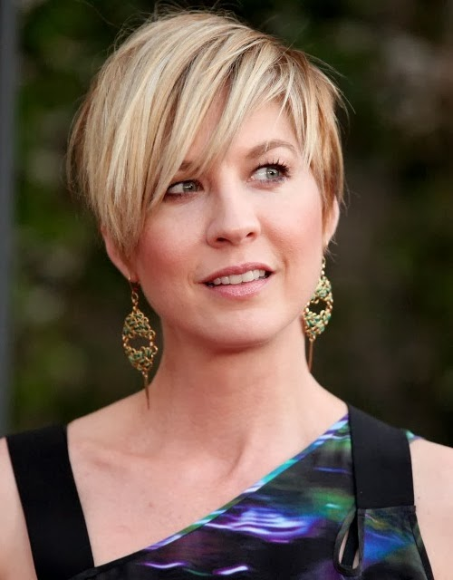 jenna elfman short hair 2011