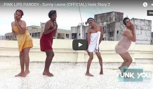 PINK LIPS PARODY - Sunny Leone (OFFICIAL) Hate Story 2