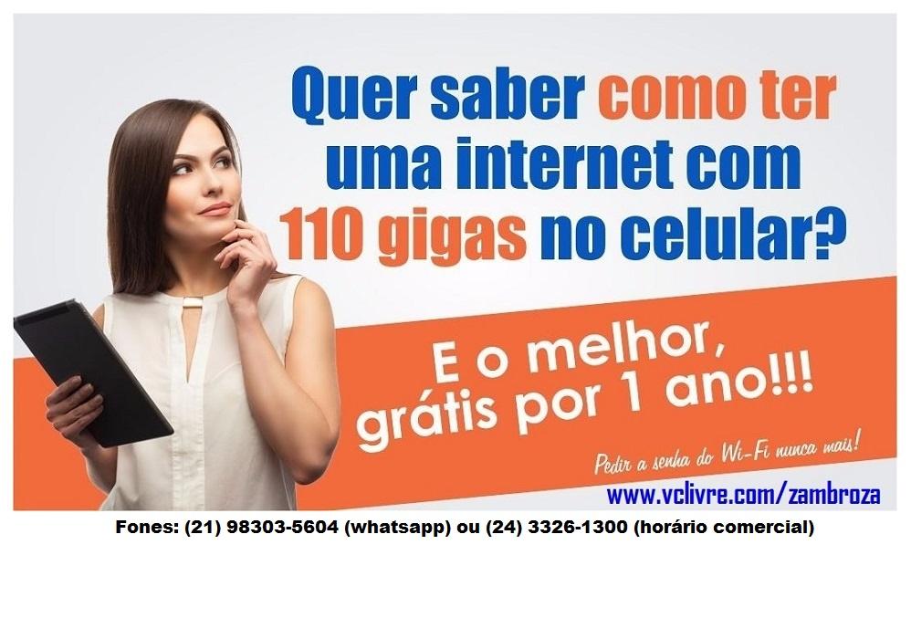 Internet grátis por um ano!