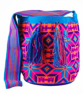 Bolso Wayuu multicolor