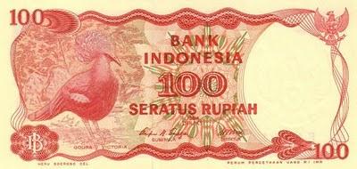 Rp100 tahun 1984