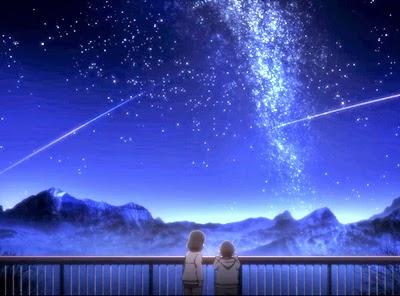 """""""a cena das crianças, que na sua singela inocência, avistaram estrelas naquilo que seria a sua possível destruição"""""""