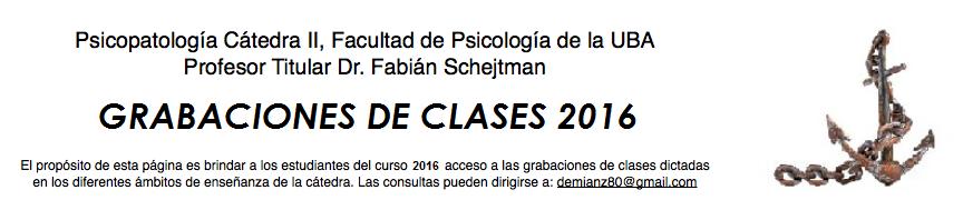 Psicopatología Cát.II - Clases en mp3
