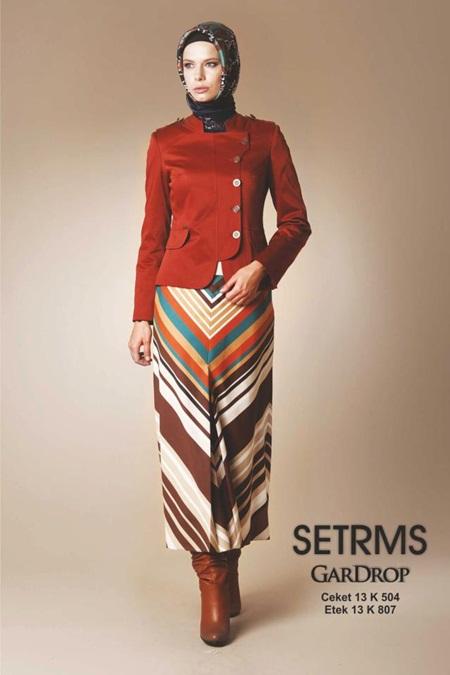 2013 Tesettür Moda Renkleri