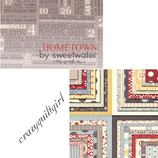 Moda HOMETOWN Quilt Fabric by Sweetwater