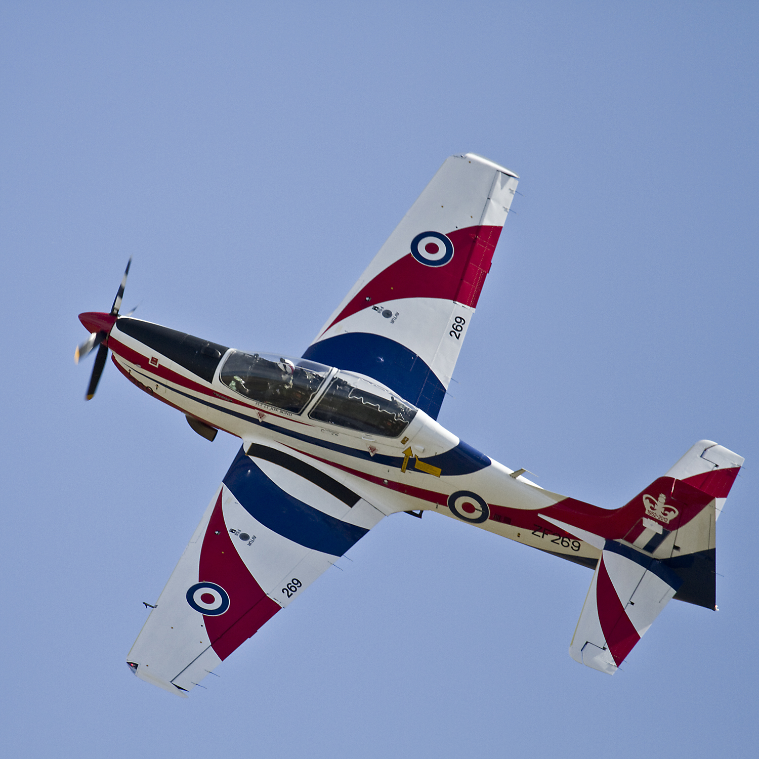 Used Turboprop: Air Shows: Shorts Tucano, Duxford 2012