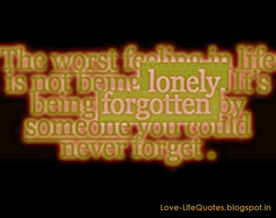 Quotes About Feeling Forgotten