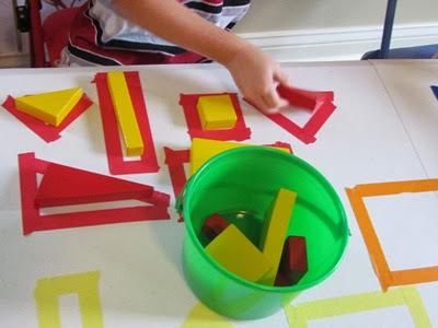 Εξερευνώντας τα χρώματα και τα γεωμετρικά σχήματα-2ο βήμα