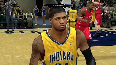 NBA 2K14 Paul George Next-Gen Face Mod