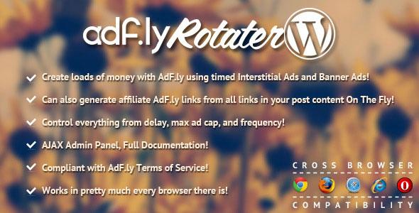 Free Download AdFly Rotater Advertising WordPress Plugin