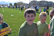 Tyler at the East Egg Hunt