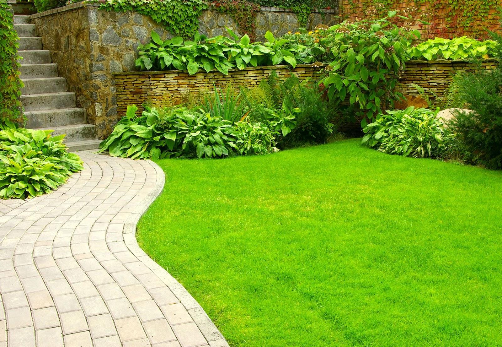Banco de im genes 9 fotos de jardines dise o exterior for Figuras para jardin