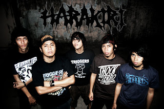 Harakiri Band Deathcore makassar Sulawesi Selatan Foto Personil Cover Artwok Logo Wallpaper