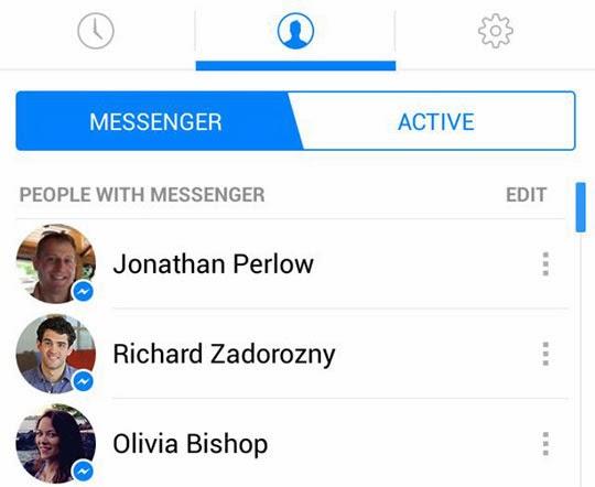 تطبيق ماسنجر الفيسبوك الجديد