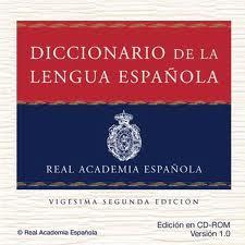 Diccionario castellano