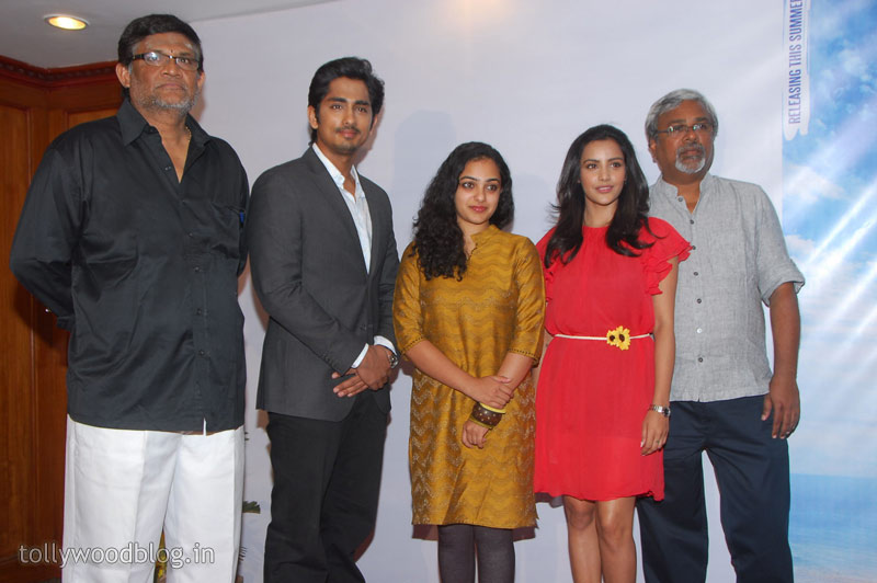 Siddharth  Press Meet Photo Stills Nitya Priya function pics