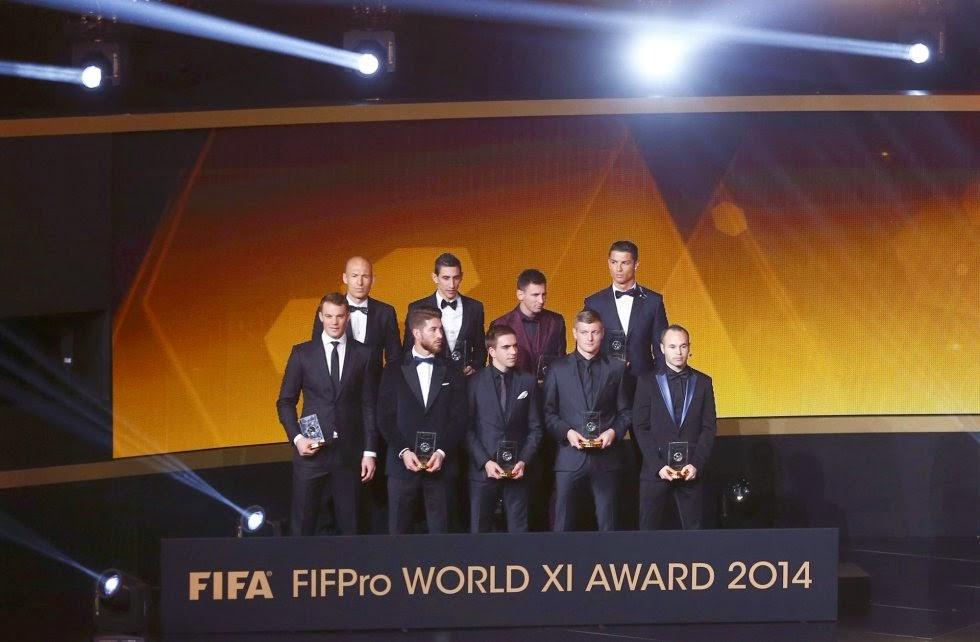 FIFA FIFpro World XI 2014