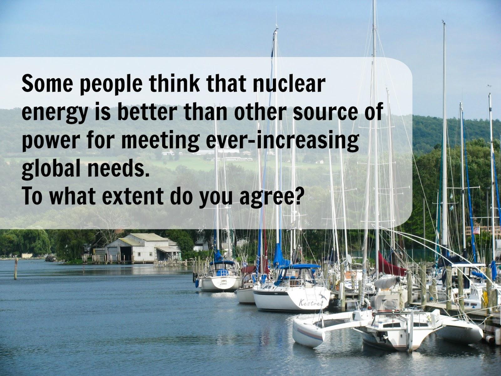 Nuclear Energy Essay