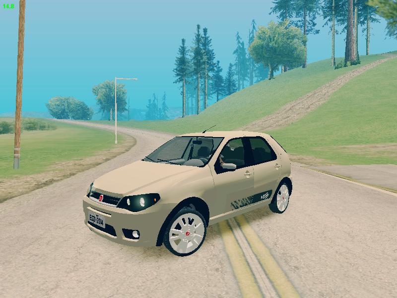 GTA SA - Fiat Palio 2015 Way