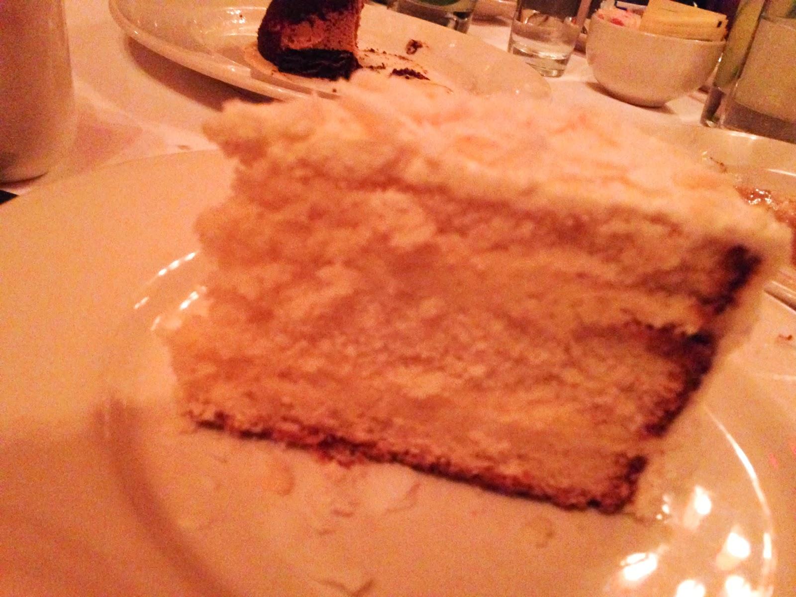 Minetta Tavern Coconut Cake
