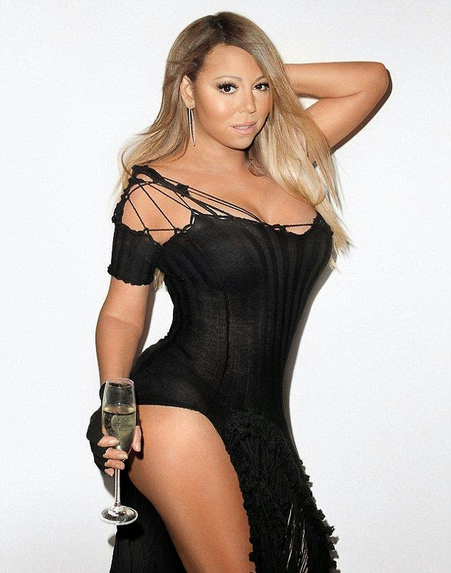 Mariah Carey aped Controversial photographer,‭ ‬Terry Richardson in a series of shoots with him for May‭ ‬2014‭ ‬Issue of Wonderland magazine.