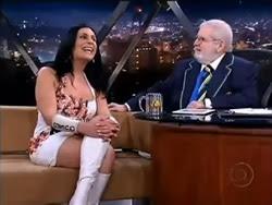 Maite Schneider no Jô Soares