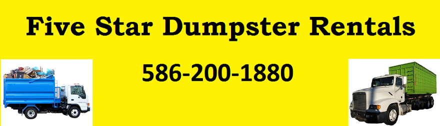 Five Star Dumpster Rentals (586)200-1880