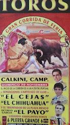 El Cejas, El Chihuahua y El Payo, anunciados en Calkini, Campeche, el 30/11.