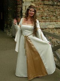 modelos de Vestidos Medievais