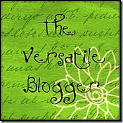 An Award - Versatile Blogger