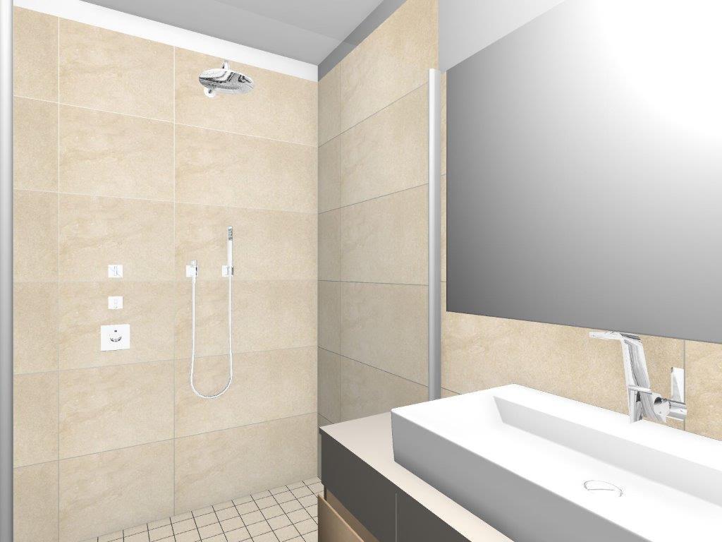 reihenhaus von werner wohnbau in bickenbach 1 3d planung badezimmer keramundo fliesen. Black Bedroom Furniture Sets. Home Design Ideas