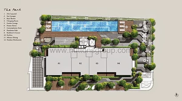 Onze @ Tanjong Pagar Siteplan