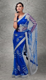 Indian-Party-Wear-Saree