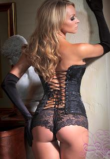 corset lacé