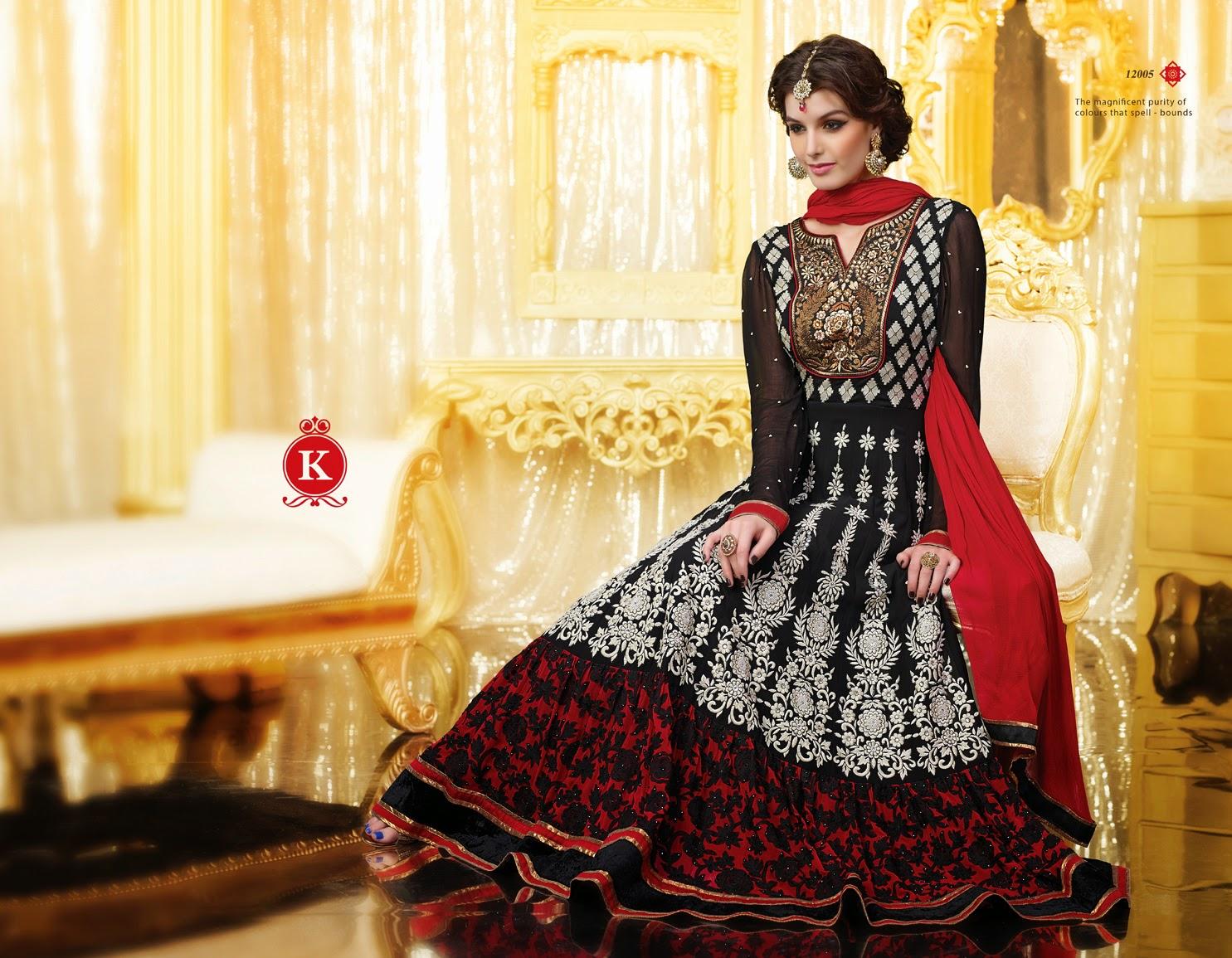 Singhaar Online: ♥ Girls Long Bridal Frock Designs | Bridal Frock ...