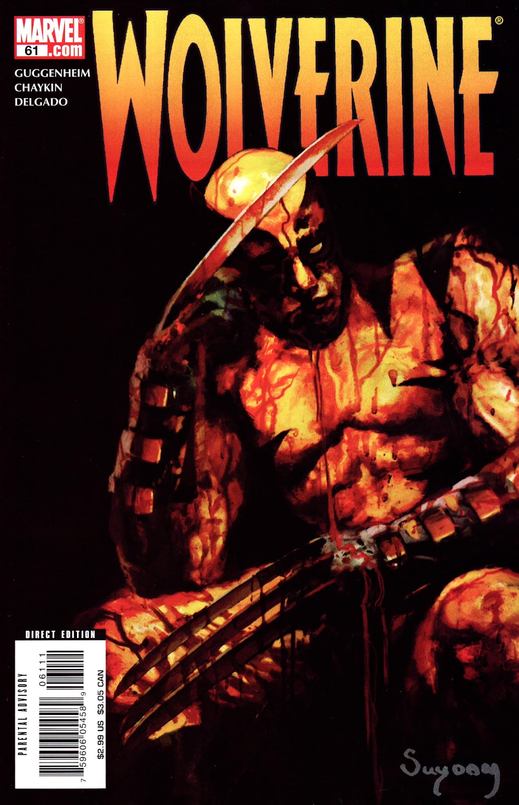 Read online Wolverine (2003) comic -  Issue #61 - 1