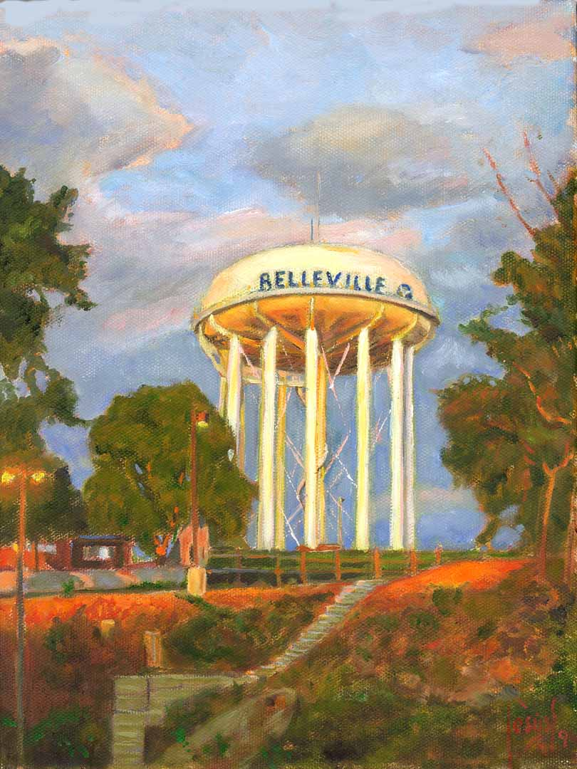 Jesus Estevez Prints And Cards 033 Water Tower
