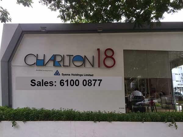 Charlton 18 Showflat