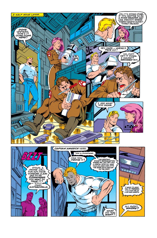 Captain America (1968) Issue #424 #374 - English 6