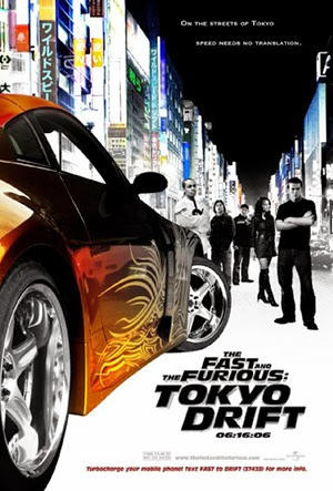 Poster The Fast and the Furious: Tokyo Drift 2006