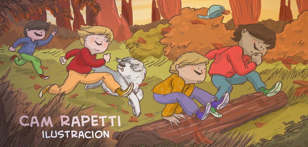Cam Rapetti Ilustraciones