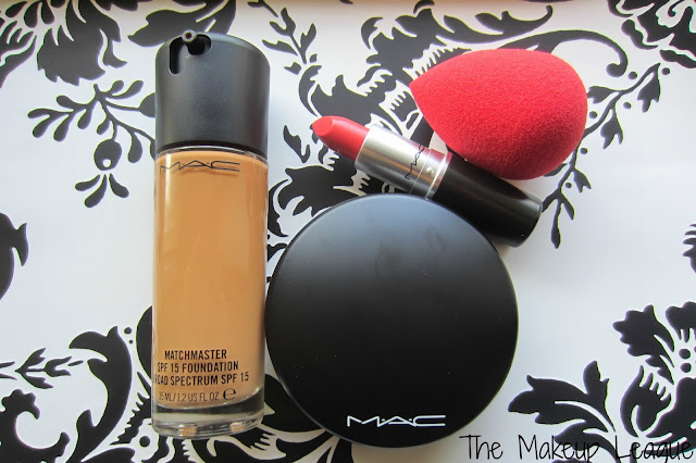 mac beauty blender tropic tonic matchmaster foundation