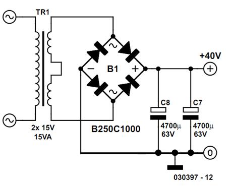 Precision Headphone Amplifier Circuit Diagram