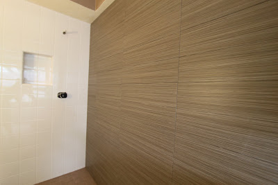 plank tile in bathroom