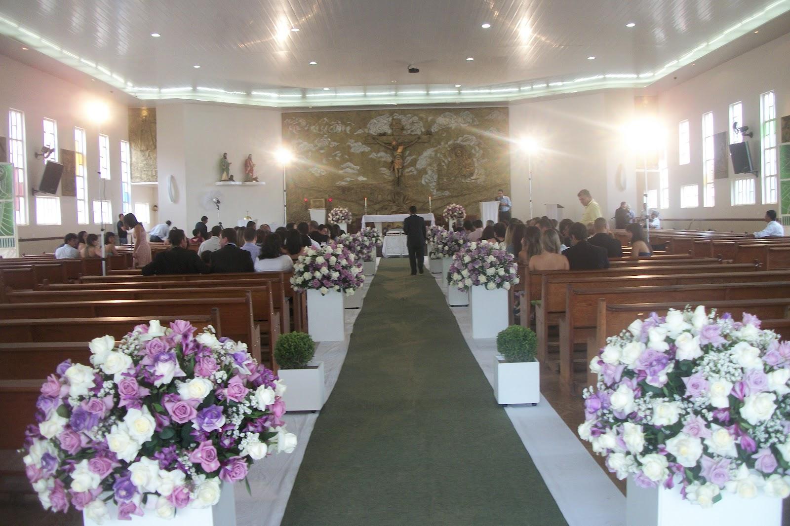De Casamento Na Igreja Universal Igreja Decorada Para Casamento  Car