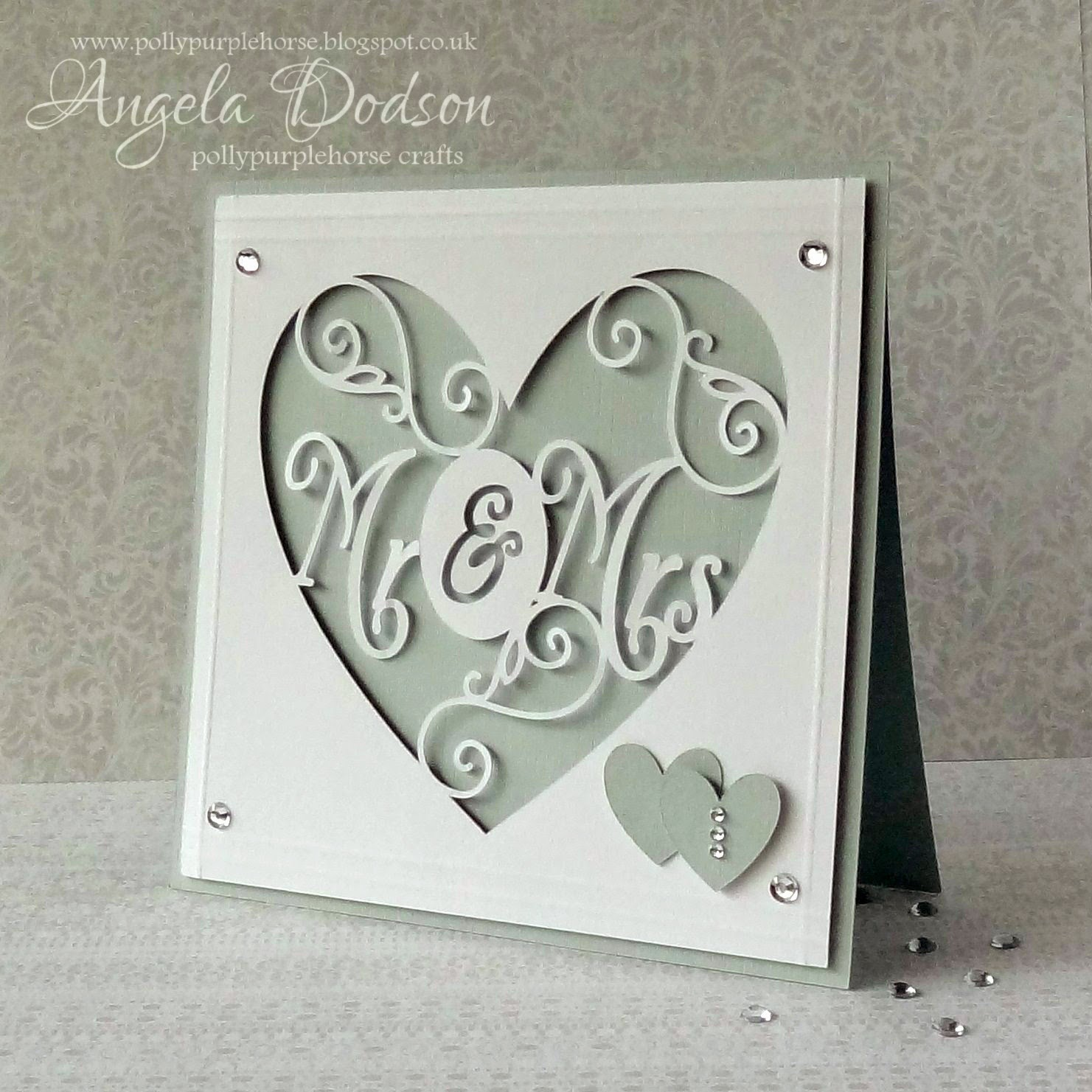 Pollypurplehorse Is Crafty Explore Ing A Wedding Card