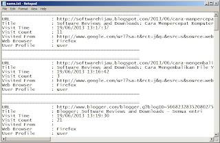Cara Menyimpan Riwayat Web Browser Firefox, Chrome, Internet Explorer, Dan Safari Dengan BrowsingHistoryView-7