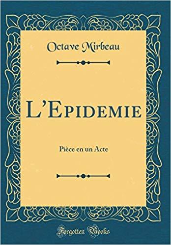 """""""L'Épidémie"""", Forgotten Books, 2018"""