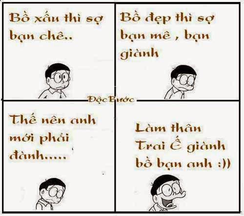 Chế thơ vui của Nobita - Hình 4